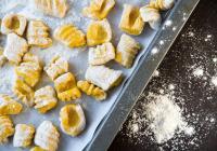 Gnocchis, Champignons poêlés, crème de Parmesan
