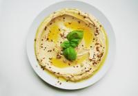 Hummus et pain pita maison