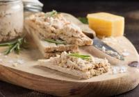 Rillette de poissons & Toasts à L'huile d'olive